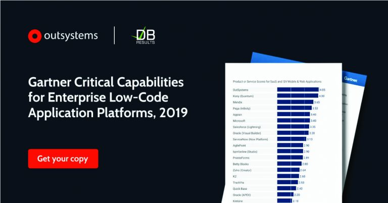 Get your copy of the Gartner Critical Capabilities for Enterprise Low Code Application Platforms